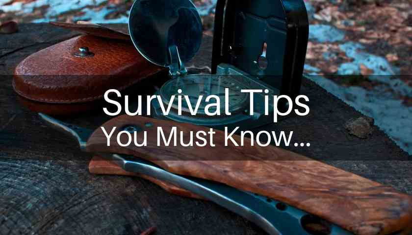 wilderness survival tips you must know