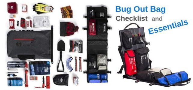 Bug Out Bag Checklist And Essentials