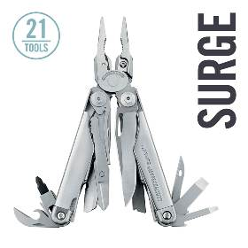 LEATHERMAN Surge Multi-tool - Cool Survival Gadgets #8